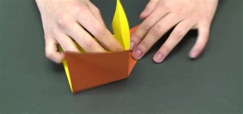 How To Fold Paper Cool - how to fold a cool origami box 171 origami
