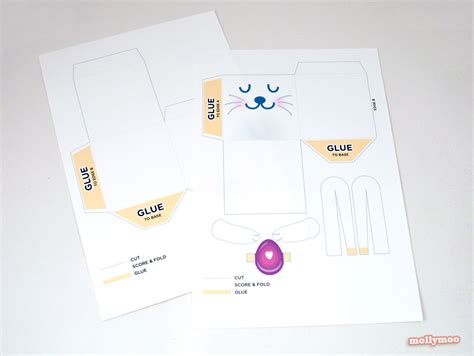 easter box templates free mollymoocrafts free printables easter treat boxes