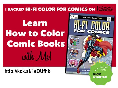 poise how to attain it classic reprint books hi fi coloring for comics kickstarter chat with brian