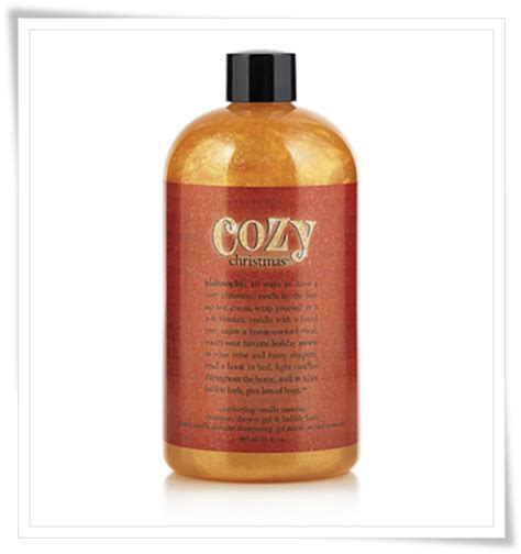 philosophy bath and shower gel philosophy cozy shower gel and lotion for
