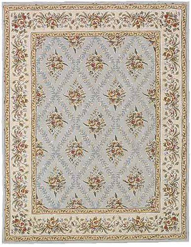 shabby chic carpet second marketplace shabby chic bordered brown blue