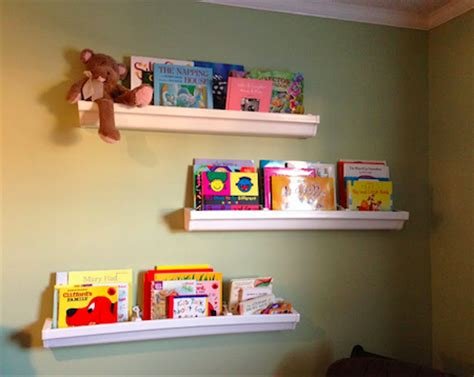 8 innovative designs for gutter bookshelves guide