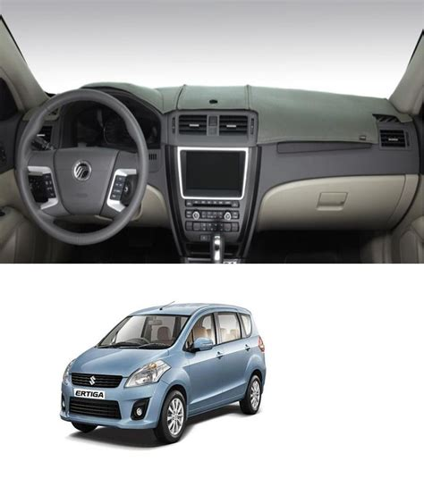Dashboard Cover Suzuki Ertiga Aksesoris Interior carsaaz premium dashboard cover for maruti suzuki ertiga grey color buy carsaaz premium