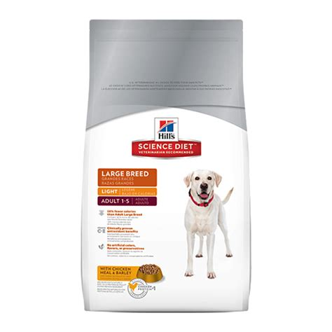 reviews cooking light diet hill s science diet large breed light canine dry for dogs