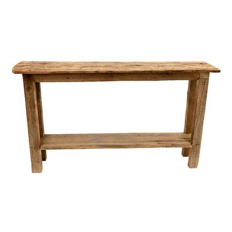 Table En Bois De Grange by Table Console En Bois De Grange D 233 Cors V 233 Ronneau
