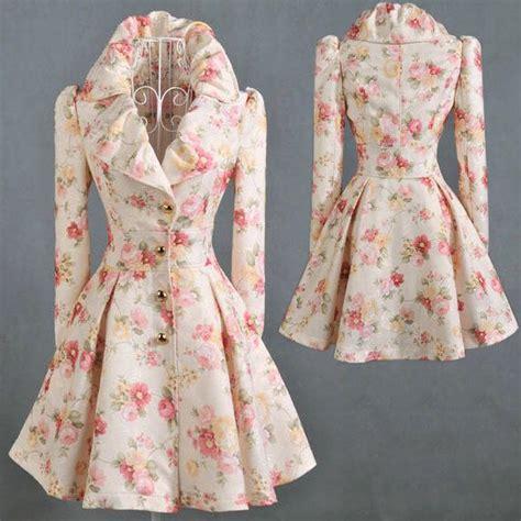 swing style frauen vintage 50 s style swing dress floral coat