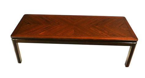 mid century rosewood coffee table by