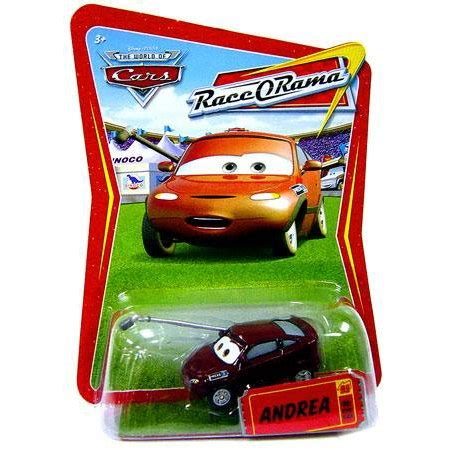 Disney Cars Andrea Die Cast disney cars race o rama andrea diecast car walmart
