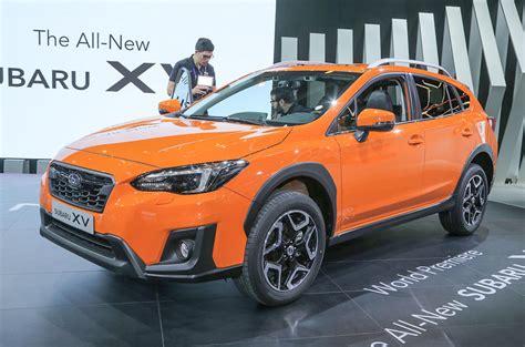 New Subaru Xv 2018 by New Subaru Xv To Go On Sale In 2018 Autocar