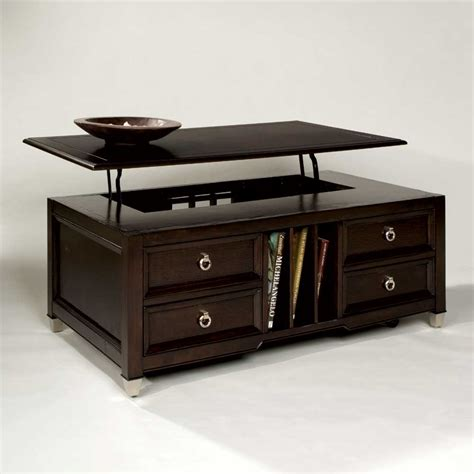 Magnussen Home Darien Lift Top Cocktail Table Homeworld Home Coffee Table