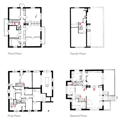 house plan elevation section plan elevation section