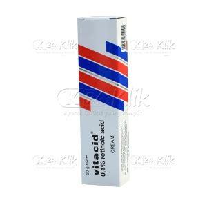 Vitacid Retinoic Acid 01 20gr Obat Jerawat jual beli vitacid cr 0 1 20g k24klik
