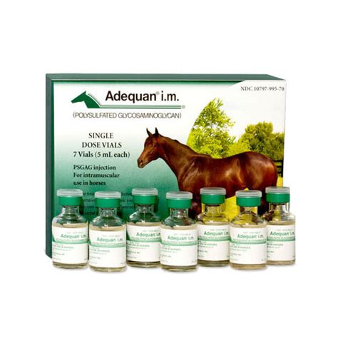 adequan for dogs 7 vials of adequan i m 5 ml adequan i m for horses vetdepot