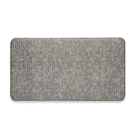 bed bath and beyond bath mats imprint 174 cumulus9 chevron series anti fatigue comfort mat