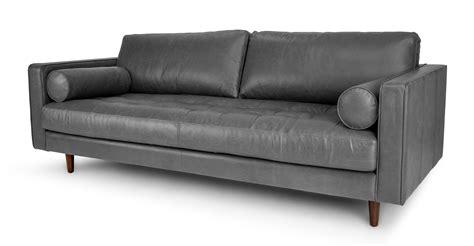 article sven sofa review sven oxford gray sofa sofas article modern mid