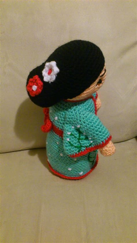 amigurumi geisha pattern 17 best images about amigurumi crochet on pinterest
