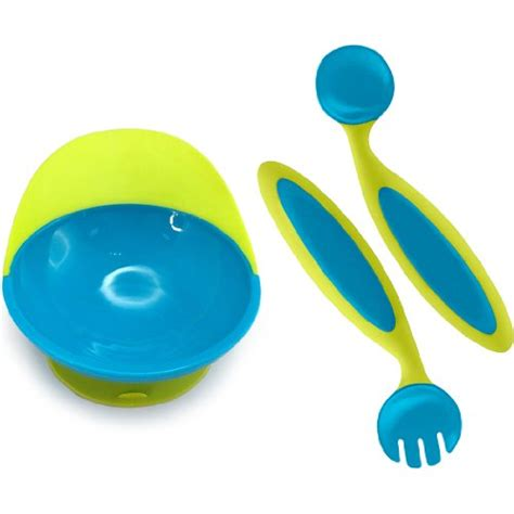 Collapsible Baby Bowl Yellow Giraffe Kotak Makan sassy less mess toddler self feeding spoon blue 30011 blue b003jt4hoe
