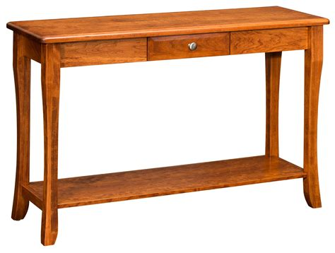 amish sofa table amish berkley sofa table
