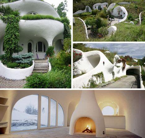 green underground eco retro earth house designs