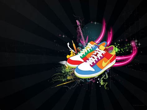 colorful nike wallpaper 84 of the best vector wallpapers