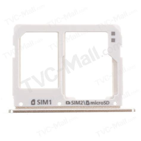 Sim Tray Sim Card Sim Lock Samsung A510 Ori oem sim micro sd card tray holder replacement for samsung
