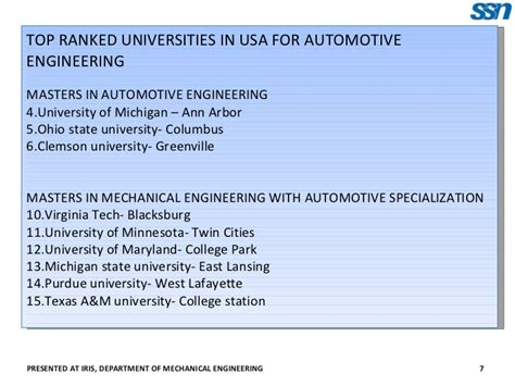 masters degree in engineering masters in automotive engineering