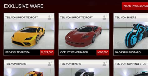 Gta V Gepanzertes Auto Kaufen by Gta 5 Online Die 5 Coolsten Autos Aus Dem Neuen Import
