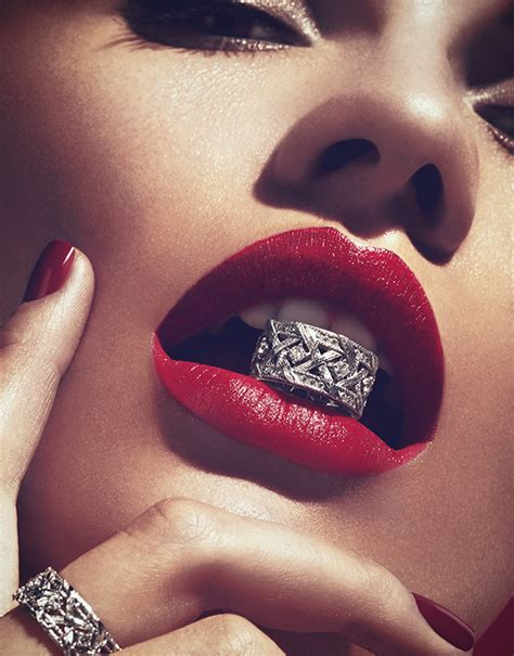 DIOR Jewelry Advertising for La Femme Magazine ? Digital