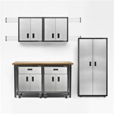 Lowes Garage Cabinets Gladiator Gladiator 14 Ready To Assemble Garage Cabinet Set
