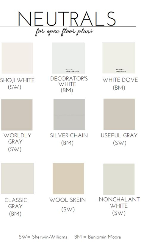 color planning for interiors choosing paint for an open floor plan neutral paint