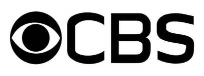 Png image of white cbs eye logo