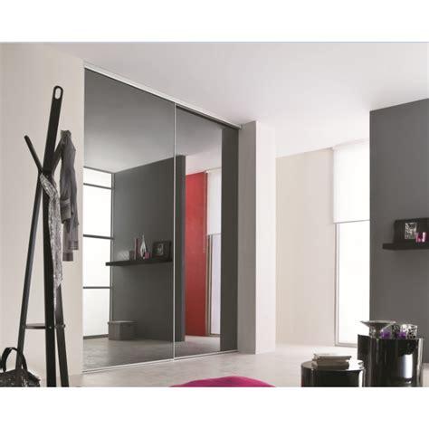 portes de placard coulissantes miroir plomb achat en ligne