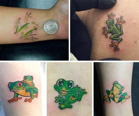 small frog tattoo designs 50 absolutely small tattoos for with their