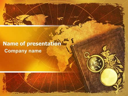 Historical Exploration Powerpoint Template Backgrounds 06590 Poweredtemplate Com Historical Powerpoint Templates