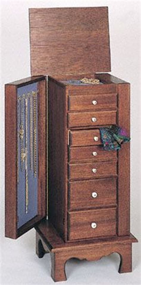 jewelry armoire cabinet plans woodworking projects plans