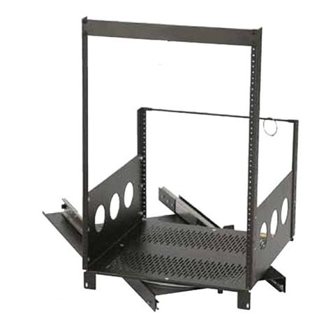 Chief Av Rack by Chief Raxxess Rotating Pull Out Rack System Black Rotr