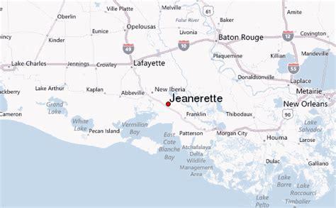 jeanerette louisiana map jeanerette location guide