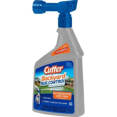 cutter 32 fl oz backyard bug spray concentrate