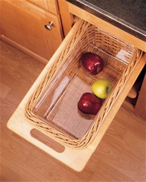 rev a shelf woven basket with rails in standard size kitchensource com rev a shelf pull out wicker storage baskets for kitchen