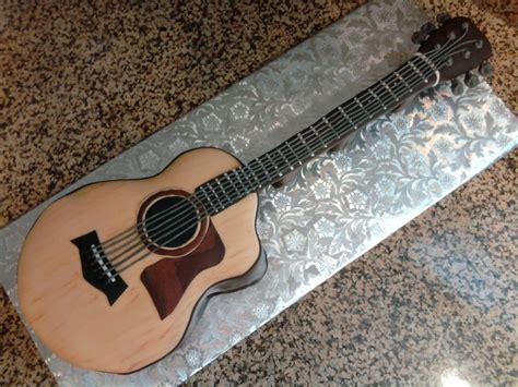 acoustic guitar cake template pin acoustic guitar cake template cake on