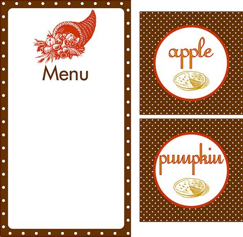 printable menu tags whatever dee dee wants she s gonna get it give thanks