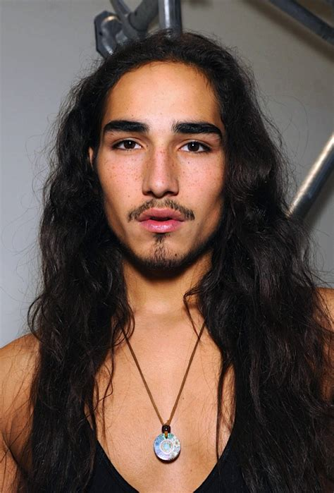 male models biracial hairstyles fabulous willy cartier