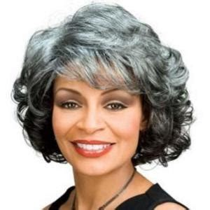 gray hair pieces for african american women the fresh short wavy gray african american lace wigs for