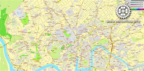 printable street maps uk bristol england uk great britain printable vector