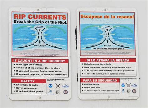 rip diagram rip current
