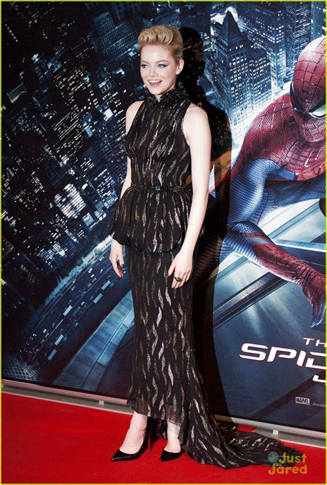 emma stone just jared emma stone andrew garfield spider man in italy