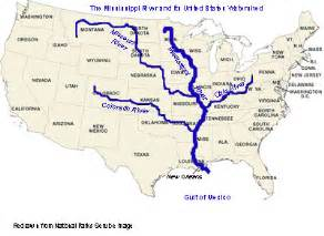 United States Major River Systems Map by 6 Major Rivers Of World List Of Major Rivers Quickgs Com