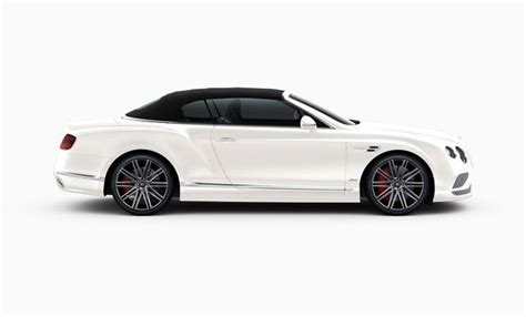 white bentley 2016 2016 bentley continental gt speed convertible facelift