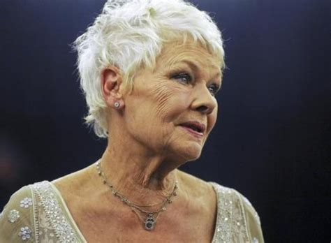 how to cut judi dench hair 17 best images about judi dench hair on pinterest thick