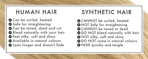 synthetic hair vs real human difference between human and synthetic hair extensions